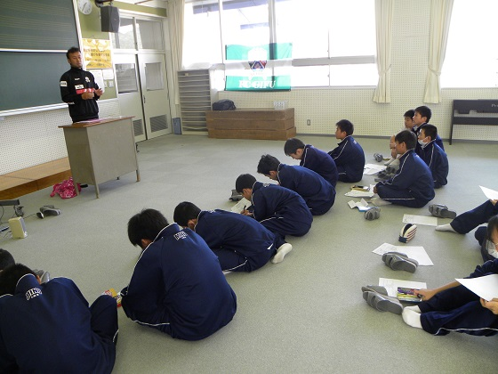 職業講話(三田コーチ) 2.JPG