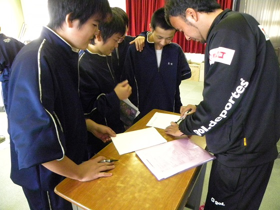 職業講話(三田コーチ) 5.JPG