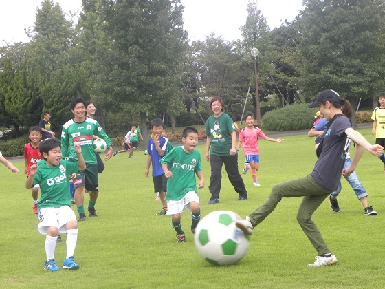 田口福寿会サッカー教室.JPG